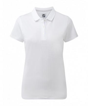 FJ dámské golfové triko bílé