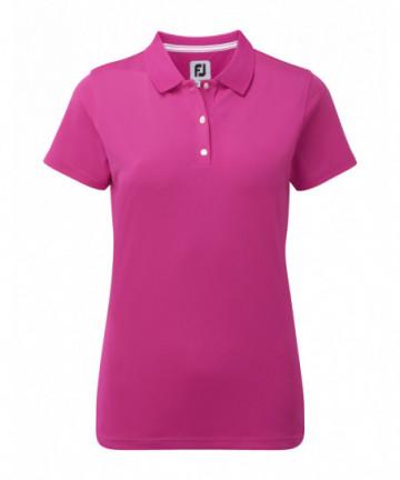 FJ dámské golfové polo růžové