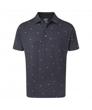 FJ pánské golfové triko navy