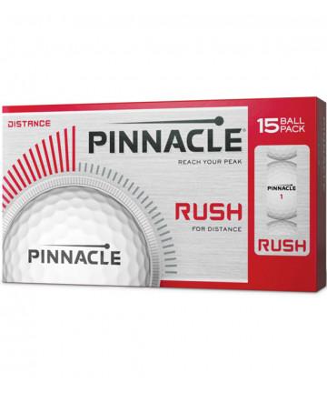Pinnacle míče Rush (15ks) bílé