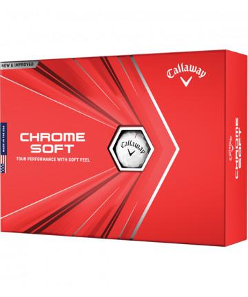 Callaway míče Chrome Soft,...