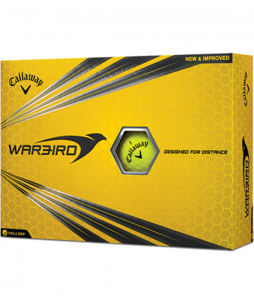 Callaway míče Warbird, Žluté