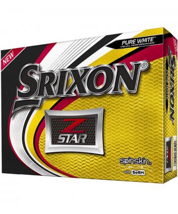 Srixon míče Z-Star, Bílé