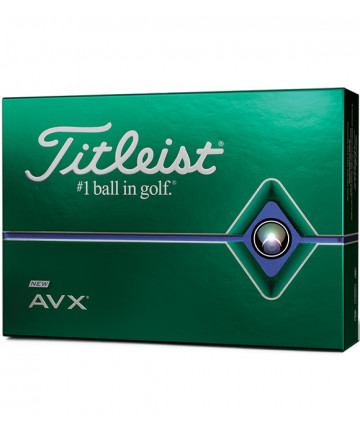 Titleist míče AVX 2020, Bílé