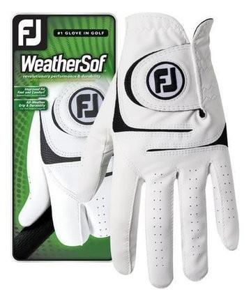 FJ WeatherSof men Glove white