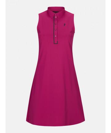 Peak Performance šaty, Růžové