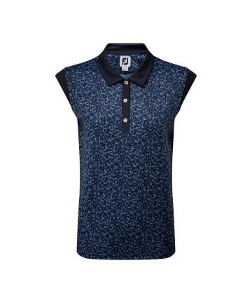 FJ dámské golfové polo, modré