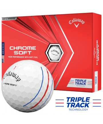 Callaway míče Chromesoft...