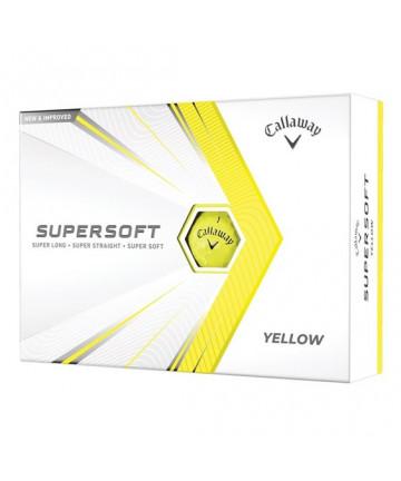 Callaway míče Supersoft, žluté