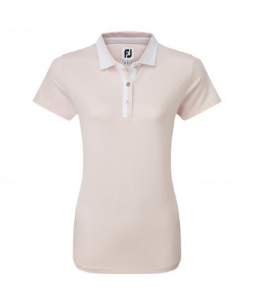 FJ dámské golfové polo, růžové