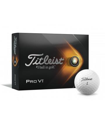 Titleist ProV1 míče, bílé