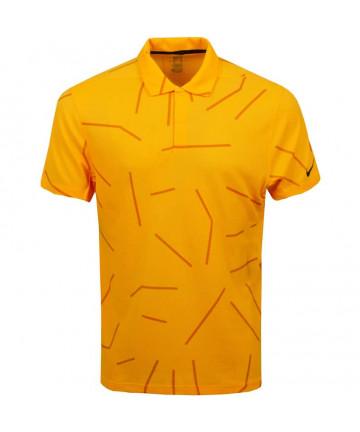 Nike pánské polo, oranžové