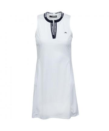 J. Lindeberg Meja šaty, bílá