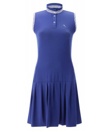 Chervo Jetset šaty, modrá